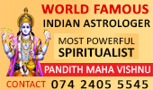 World Famous Indian Astrologer(UK)- Today advert
