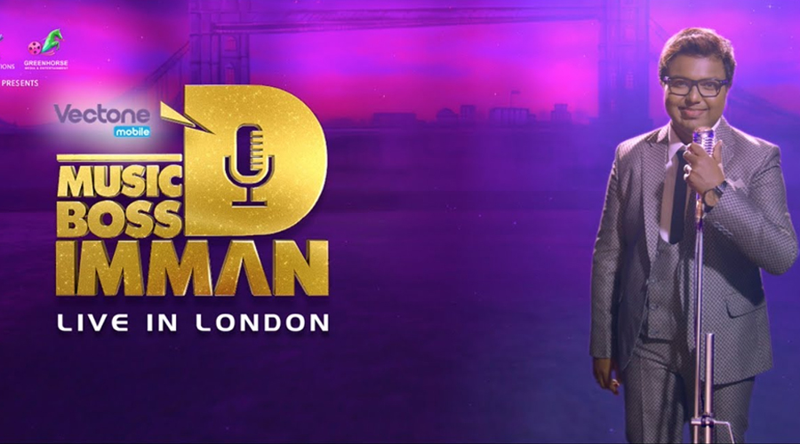 Music Boss D.Imman Live In London